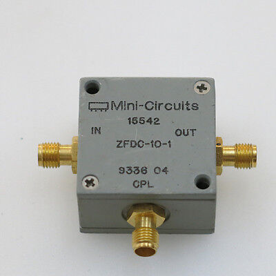 1pc Mini-circuits Zfdc-10-1 1-500mhz Sma Rf Coaxial Directional Coupler