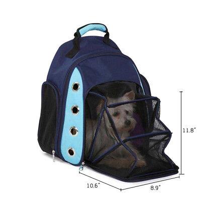Breathable Dog Backpack Pet Carrier Car Seat Basket Cat Pack Front Bag Car Seat Carrier Bag