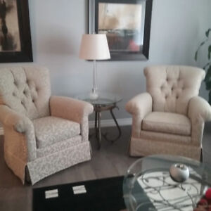 Couch and 2 Wing Chairs