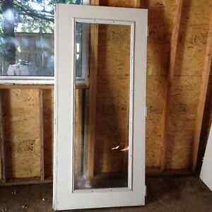 "Exterior doors for sale, no frame, size 34"" x 80"""