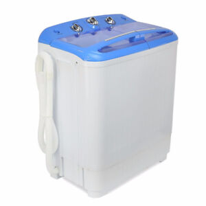 **Portable Washing Machine with Spin Dryer**