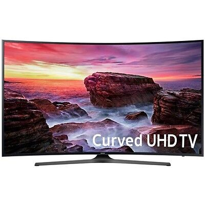 "Samsung UN49MU6500 Curved 49"" 4K Ultra HD Smart LED TV (2017 Model) MU6500"