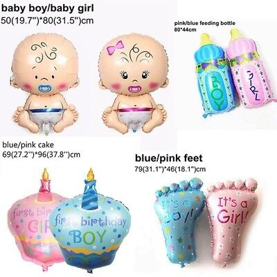 Baby Shower Foil Balloon Gender Reveal Party Birthday Decoration Helium Ballon](Baby Shower Ballons)