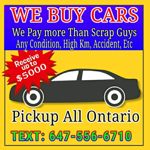 CASH 4 CARS  ( WE BUY CARS UP TO $5000 CASH ) Toyota Honda Acura