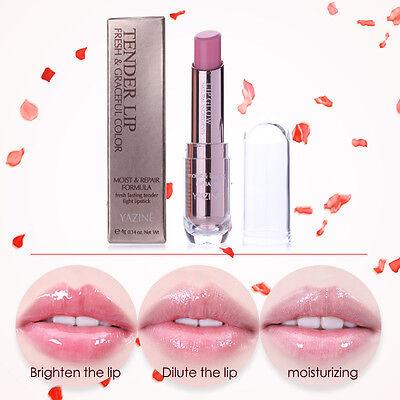 1 Pc Natural Color Changing Long Lasting Waterproof Moist Lip Gloss Balm Lipstic ()