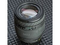 NIKON MOUNT Sigma 70-210mm f4-5.6 lens