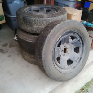 18 in. Winter Rims with Rubber