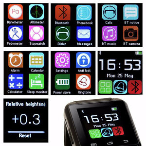 Montre smart bluetooth androïde smart watch neuve Saguenay Saguenay-Lac-Saint-Jean image 2