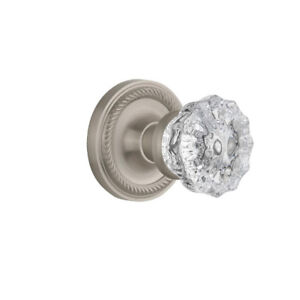 New Crystal Glass Passage Door Knob with Classic  SKU: NSTA1154