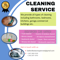 Cleaning Services starts from 70$