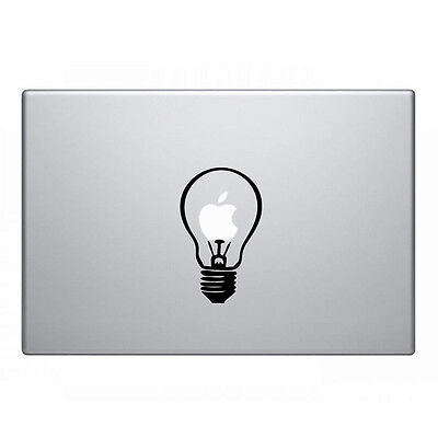 "Bulb Vinyl Decal Sticker Skin for Laptop MacBook Air/Pro 11'' 12"" 13'' 15'' 17''"