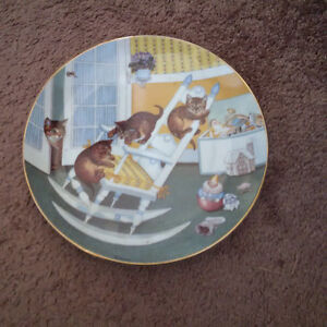 Country Kitties plate collection London Ontario image 10