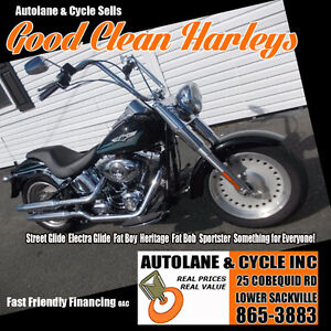 2008 Harley Davidson Fatboy SHARP BIKE Brand New Tires