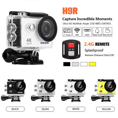 EKEN H9R Ultra 4K WiFi 1080P Sport Action Waterproof Camera Camcorder US pro
