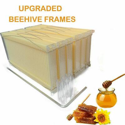 6pcs Bee Auto Honey Beekeeping Beehive Hive Frames Harvesting Bpa-free Plastic