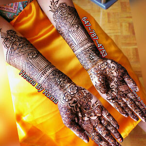Henna Services available @ affordable heena rate - Brampton