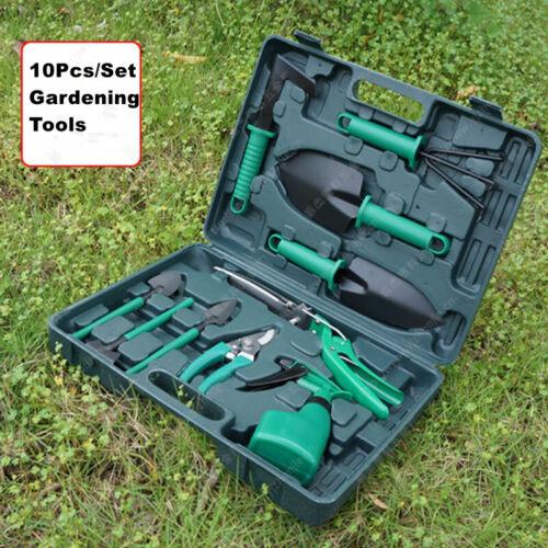 10 Pcs/Set Gardening Tools Set Gifts Ergonomic Non Slip Hand