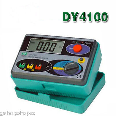 Dy4100 Digital Earth Ground Resistance Tester Meter