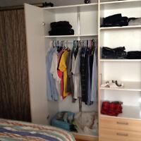 Très grande armoire-penderie Ikea