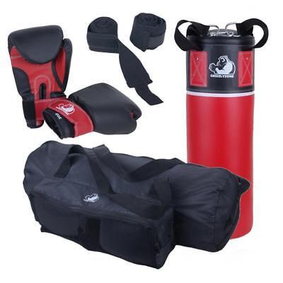 Boxsack Kinder Set gefüllt 5,5 kg Sandsack Boxhandschuhe Punching Bag Boxset