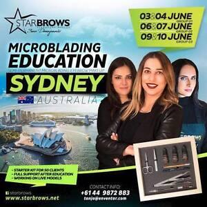 Starbrows BY Sena Damnjanovic - Microblading eyebrows training Rosebery Inner Sydney Preview