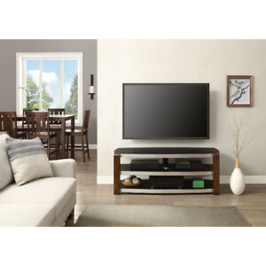 Whalen Contemporary Bench TV Stand for TVs up to 60 - Black