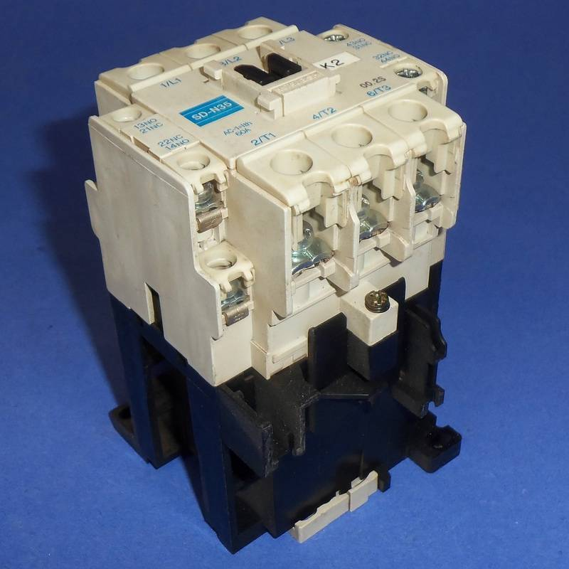 MITSUBISHI ELECTRIC 24VDC COIL 60A MAGNETIC CONTACTOR SD-N35