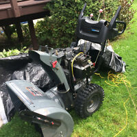 "Murray Pro series 27"" snow blower for sale-Mint condition"