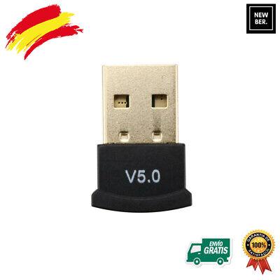 USB Bluetooth 5.0 PC Ordenador Windows adaptador Emisor Receptor Transmisor