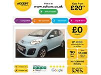 Citroen C1 1.0i ( 68bhp ) 2013MY Edition FROM £20 PER WEEK!