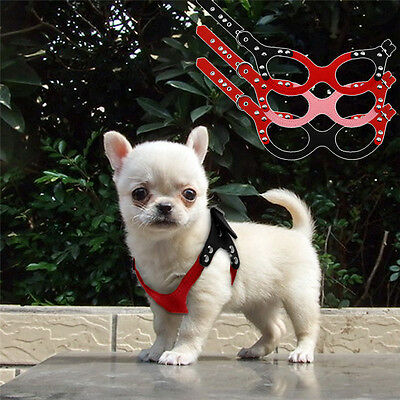 Toy Poodle Dog - Cute Teacup Dog Harness Soft Vest Pet Puppy Chihuahua Hand Strap for toy Poodle