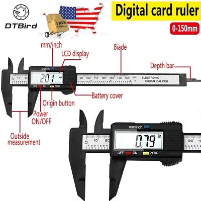 Mitutoyo Absolute 12 Digital Caliper Brand Vernier 150mm 6 Inch