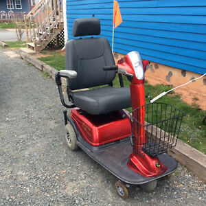 Red Rascal Scooter