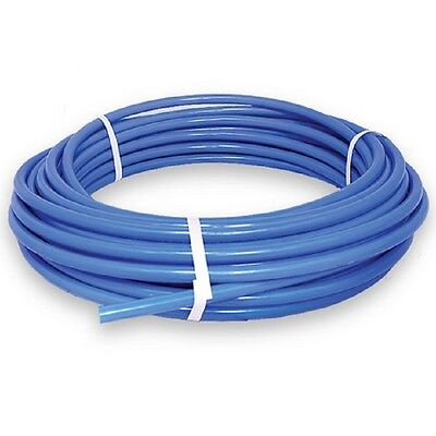 12in Pex Tubing 100ft Coil Non Barrier Water Pipe Line Hose Tube Plumbing Blue