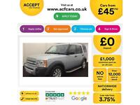 Land Rover Discovery 3 2.7TD V6 auto 2007MY SE FROM £45 PER WEEK!