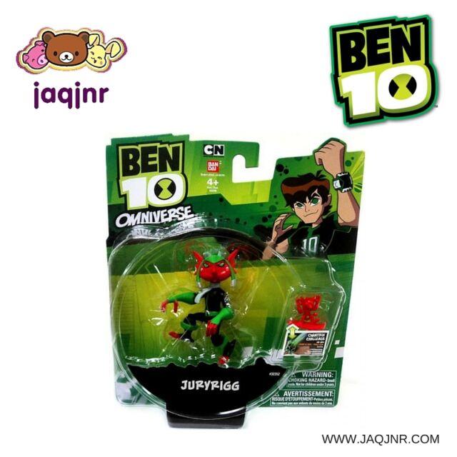 """Bandai Ben 10 Omniverse - JURYRIGG 4"""" Action Figure *New*"""