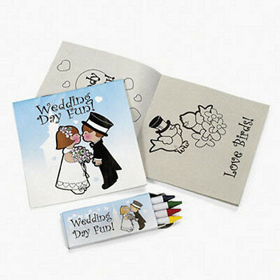 Malbuch mit Buntstiften, Gastgeschenk, Blumenkinder, Hochzeit (Malbuch Blumen)