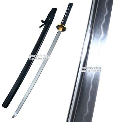 Musashi Handmade Samurai Sword Katana 1060 Differential Harden Steel Sharp