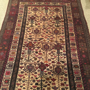 Handmade 1940's Afghan Tribal Rug for sale!
