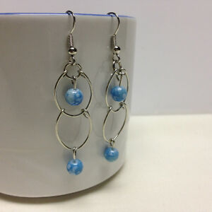 Silver plated earrings London Ontario image 2