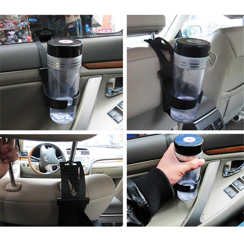 Black Universal Vehicle Car Truck Door Mount Drink Bottle Cup Holder Stand *zz0