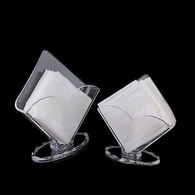 Clear Acrylic Napkin Holder Paper Serviette Dispenser Decora