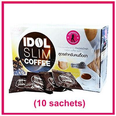 IDOL Coffee Slim Drink Instant Diet Burn Weight Loss Resistance Low Fat Fit Body