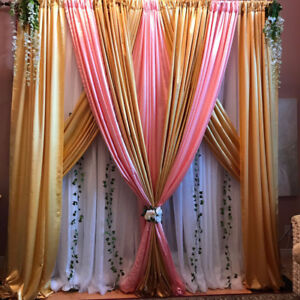 wedding backdrops and bride groom chairs! affordable.