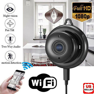 Wireless Mini WIFI IP Camera HD 1080P Smart Home Security Camera Night Vision US