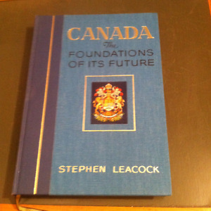 Stephen Leacock - Canada - Foundation / Future - First