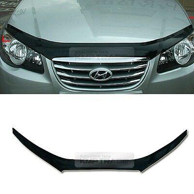 San Black Front Hood Guard Bug Shield  Molding for HYUNDAI 2007-2010 Elantra HD