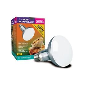 Reptile uv and heat bulb