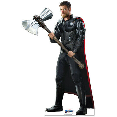 THOR Avengers Endgame Lifesize CARDBOARD CUTOUT Standup Standee Chris Hemsworth  - Cardboard Standees