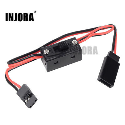 LED Light Control Power Switch for 1/10 1/8 RC Rock Crawler Model Car TRX4 SCX10